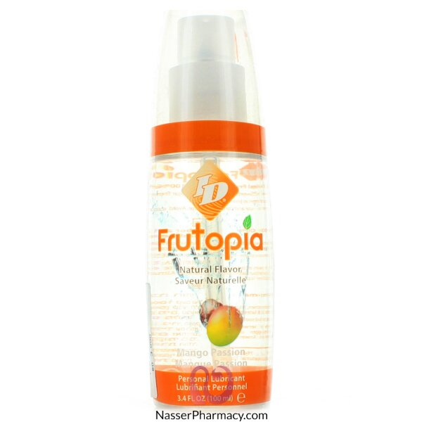 I-d Frutopia Flavored Lubricant Mango Passion 100ml