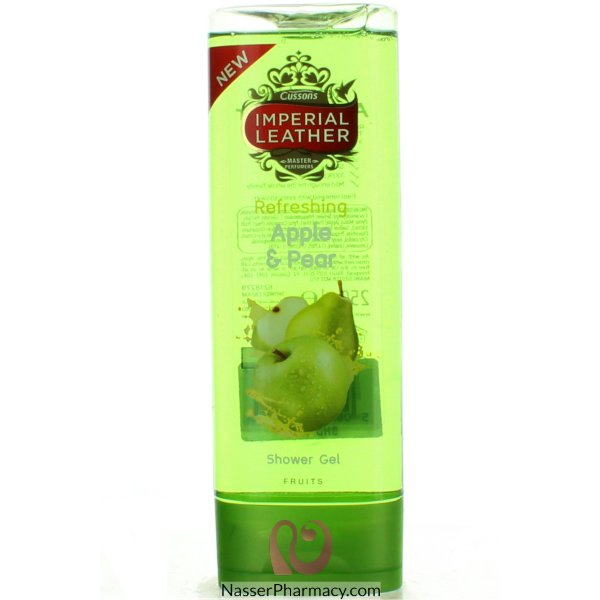 Imp Leath Shwr Fruits Apple+peach 250ml-61393