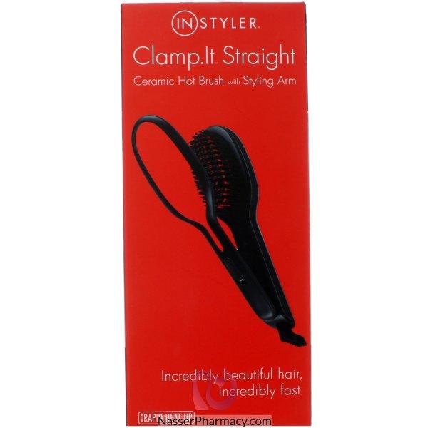 Instyler Ceramic Hot Hair Brush- Hbllr1-1me