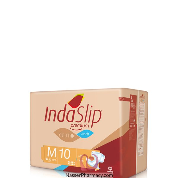 Indaslip (m10) Prem. Adult Diapers 20&#39s (80-125cm)