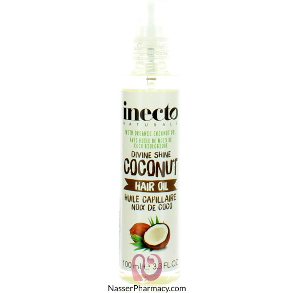 Inecto Naturals Hair Oil Coconut 100ml-59380