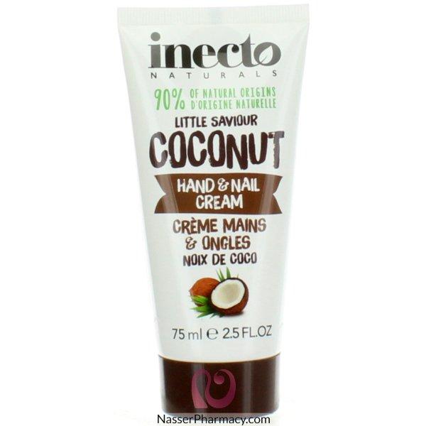 Inecto Naturals Hand & Nail Coconut 75ml-59378