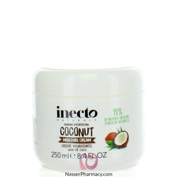 Inecto Naturals Moisture Cream Coconut 250ml-59387