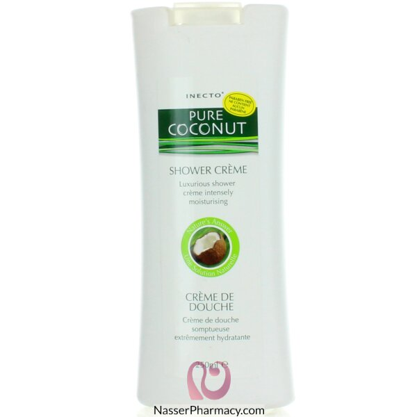 Inecto Pure Coconut Bath & Shower Cream - 250ml