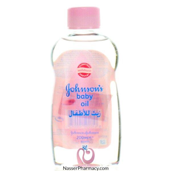جونسون   Johnson's زيت للأطفال 200 مل
