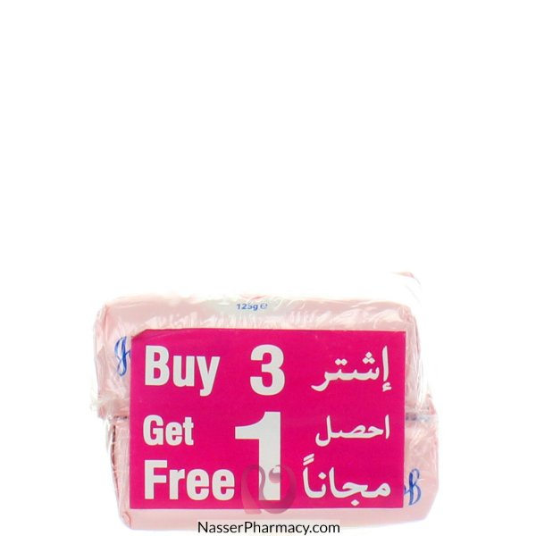 Jj Baby Soap With Lotion 125gm 3+1 Free
