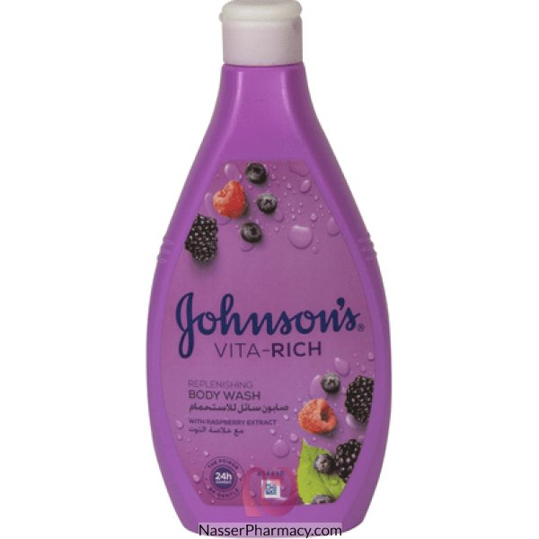 Jj B/wash Vita Rich Berry400ml