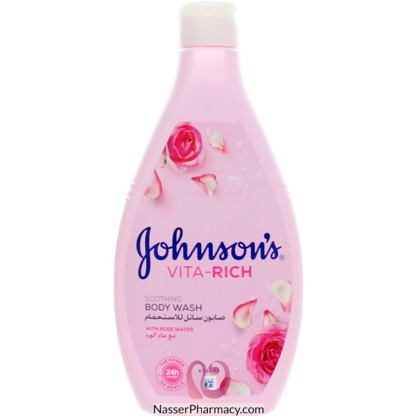Jj B/wash Vita Rich Rose Water 400 Ml