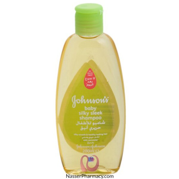 Johnson&#39s Baby Silky Sleek Shampoo 200ml