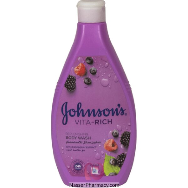 Johnson's  Body Wash Vita Rich Berry 400ml