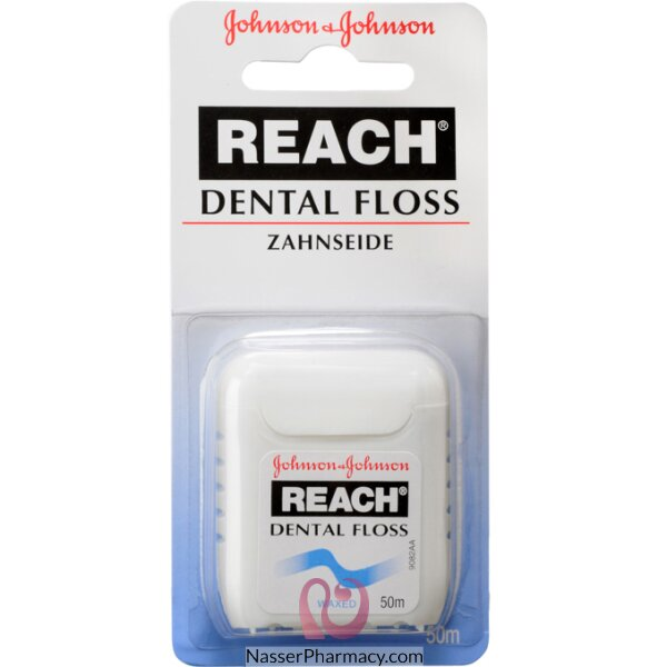 Johnson's Reach Dental Floss Waxed 50m