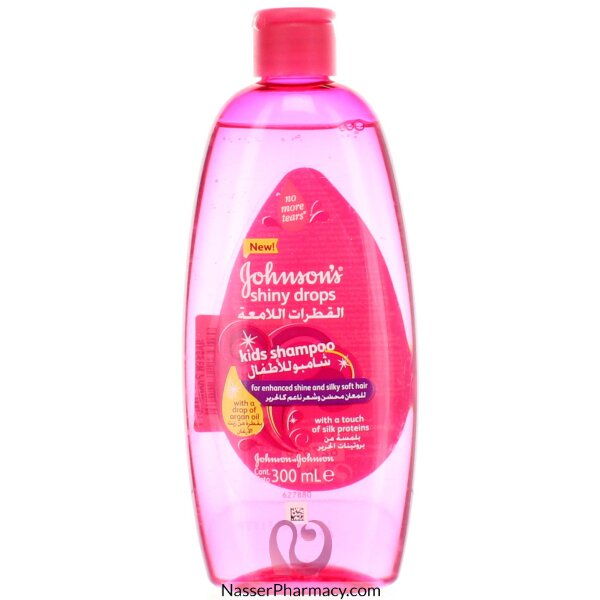 Johnson&#39s Shiny Drops Kids Shampoo 300ml