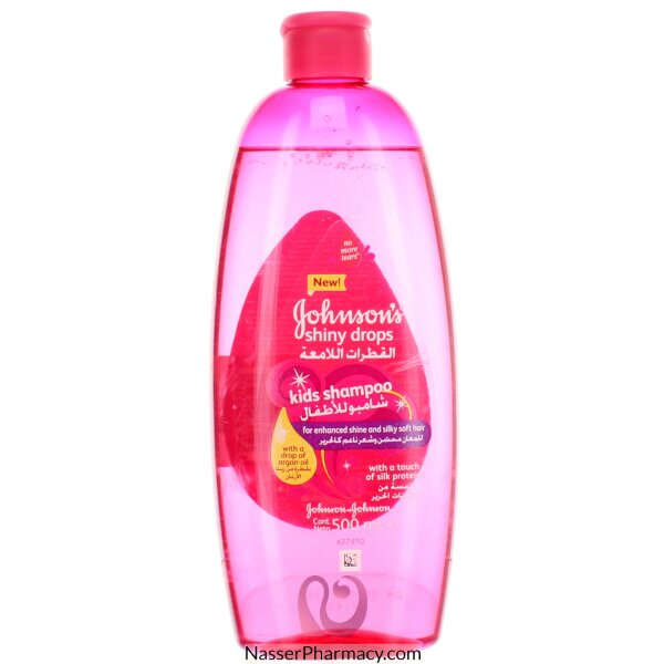 Johnson&#39s Shiny Drops Kids Shampoo 500 Ml