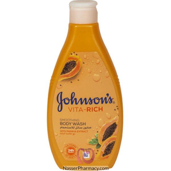 Johnson's  Body Wash Vita Rich Papaya 400 Ml