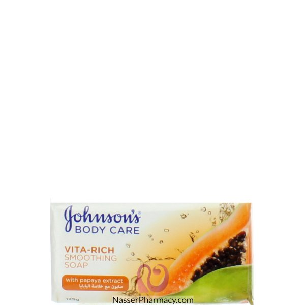 Johnson's Soap Vita Rich Papaya 125g