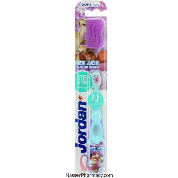 جوردان Jordan Step 2 فرشاة أسنان للأطفال (3-5) سنوات