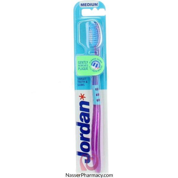 Jordan T/brush Target Teeth&gums Meduim