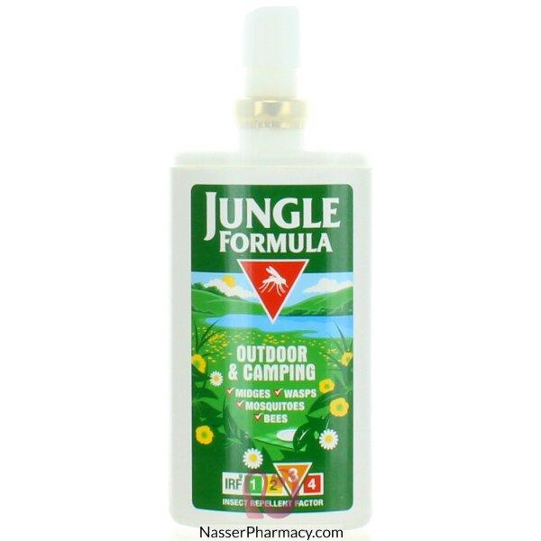 جانجل فورميولا Jungle Formula مضخة سبراي لطرد الحشرات - للتخييم بالخارج 90 مل -58888