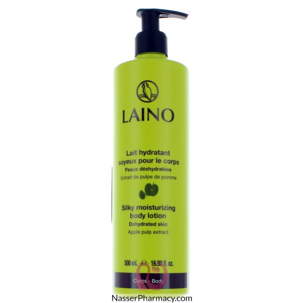 Laino Silky Moisturising Body Lotion Apple Extract -  500ml