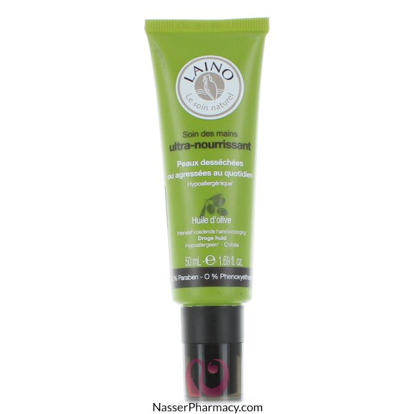 Laino Ultra-nourishing  Hand Cream Olive Oil - 50ml