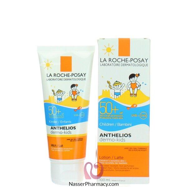 لاروش بوزية Laroche-posay  لوشن حماية للأطفال من أشعة الشمس معامل حماية 50 -100مل