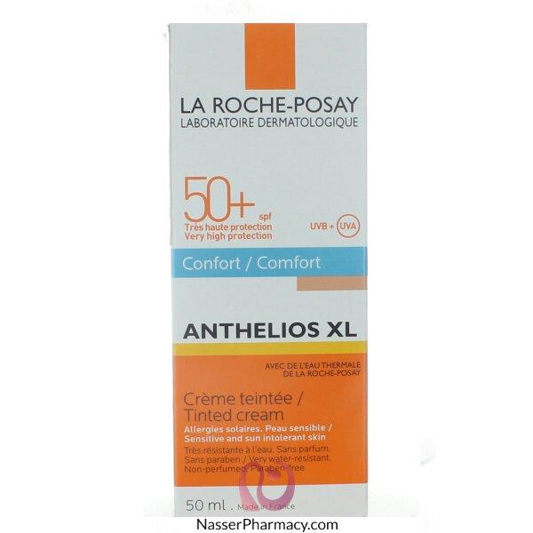 لاروش بوزيه  La Roche-posay  كريم واقي من الشمس عامل حماية +50 كريم ملون - 50مل