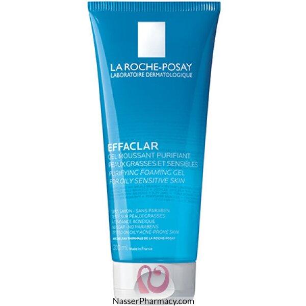لاروش بوساي جل (effaclar)la Roche-posay  منظف للبشرة الدهنية - 200 مل