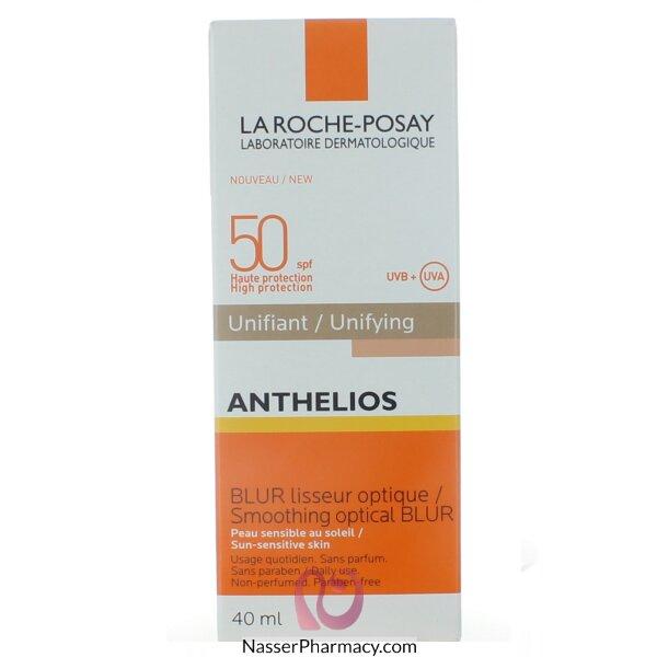 لاروش بوساي (la Roche-posay Anthelios) واقي من الشمس خافي للعيوب باشراقة ذهبية عامل حماية 50 - 40 مل