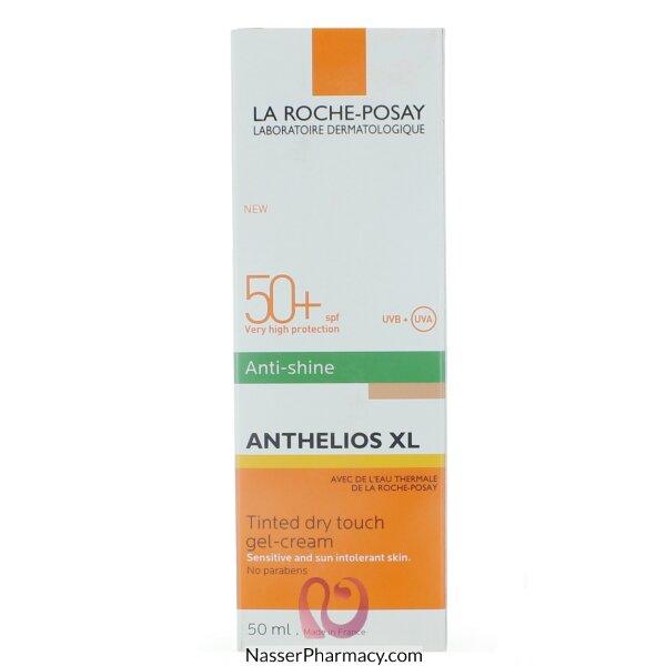 لاروش بوساي (la Roche-posay Anthelios Xl ) كريم جلل ملون جاف الملمس مقاوم للمعان عامل حماية +50 - 50مل