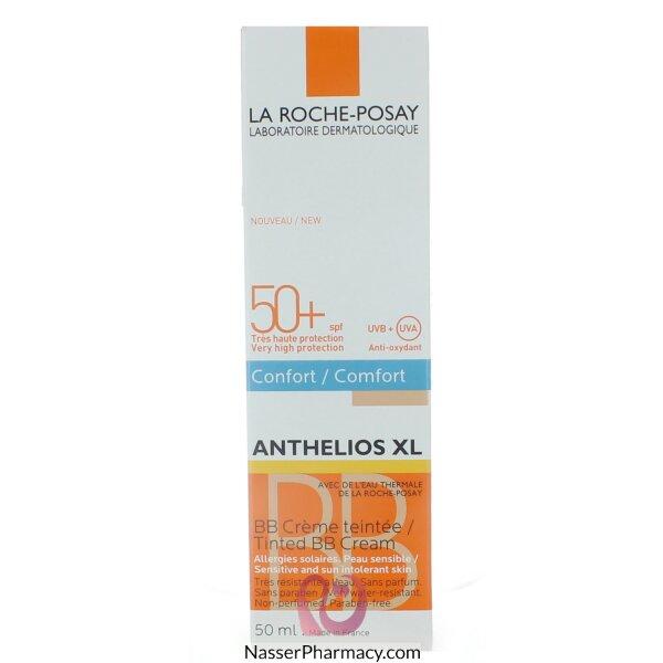 لاروش بوساي (la Roche-posay Anthelios Xl) كريم زاقي من الشمس بأساس ملون Bb عامل حماية +50 - 50مل
