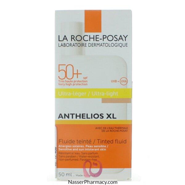 لاروش بوساي (la Roche-posay Anthelios Xl) واقي من الشمس ملمس خفيف بلون عامل حماية +50 - 50مل
