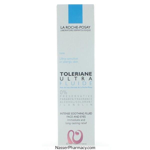 لاروش بوسايla Roche-posay Toleriane Ultra سائل ملطف مكثف للبشرة الحساسة - 40مل