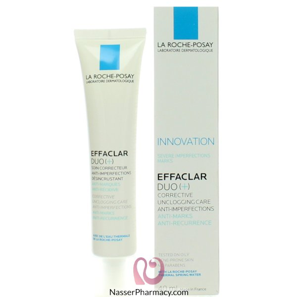 Effaclar Duo(+) 40ml Fr/gb