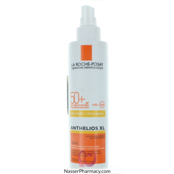 La Roche Posay-anthelios Ultra Light Spray Spf +50-200ml
