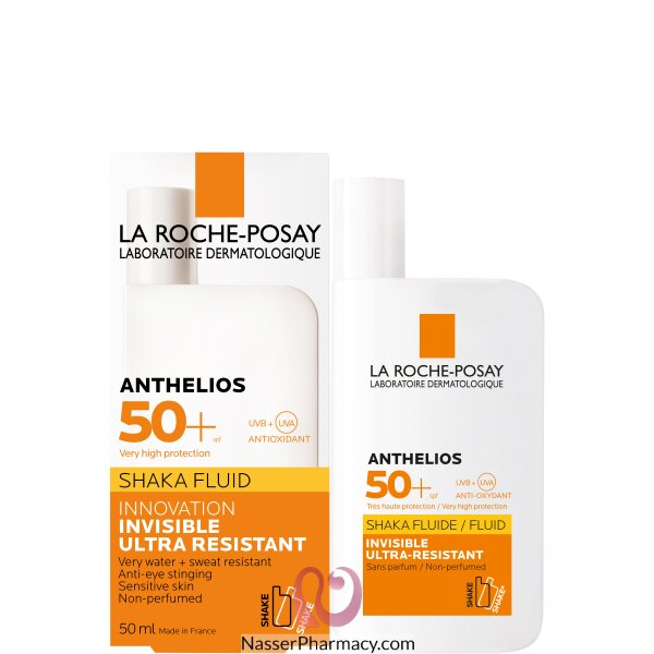 La Roche-posay Anthelios Xl Spf 50+ Fluid Ultra-light Fragrance Free - 50 Ml