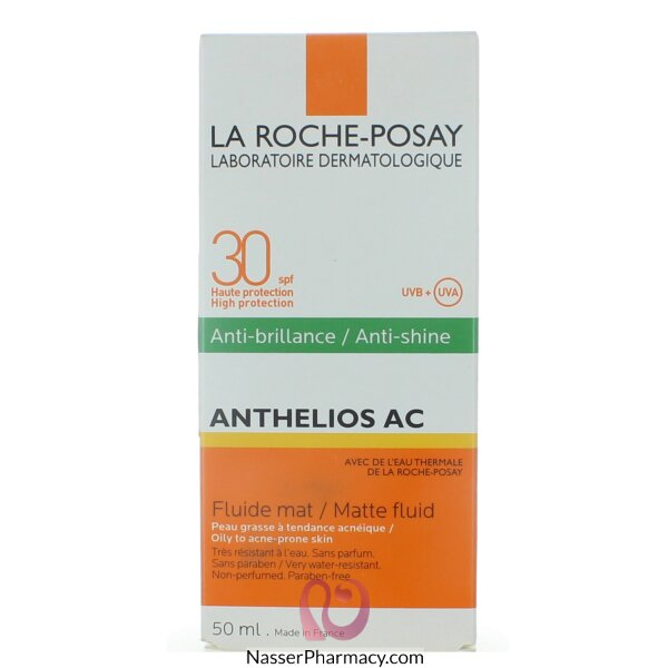 La Roche-posay  Cream Anthelios Ac Anti-shine Spf +30 - 50ml