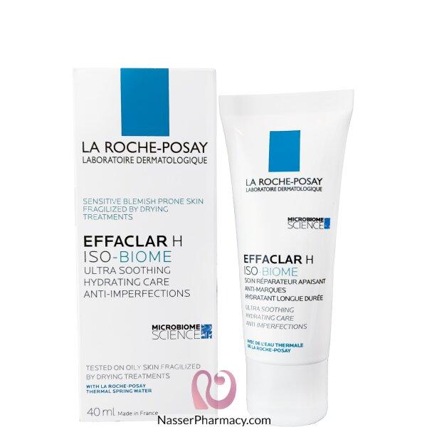 La Roche-posay Effaclar H Soothing Moisturiser - 40ml
