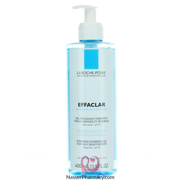 La Roche-posay Effaclar Purifying Foaming Gel Cleanser - 400ml
