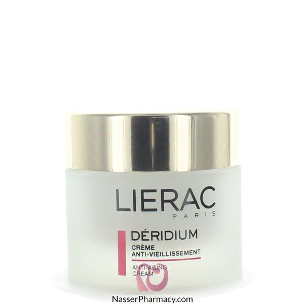 ليراك (lierac Deridium ) كريم لعلامات التقدم  في السن - 50مل