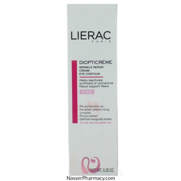 ليراك Lierac Diopticreme  كريم مضاد للتجاعيد حول العين  - 10مل