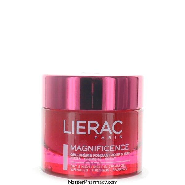 ليراك (lierac Magnificence) كريم-جل مرطب منقي للبشرة صباحا و مساء - 50مل