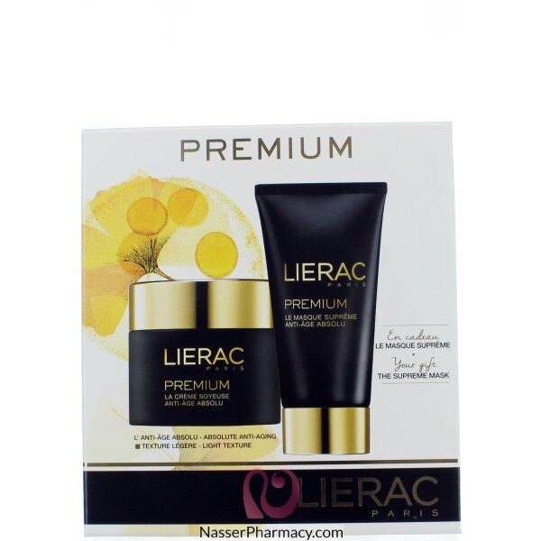 ليراك  Lierac Premium روتين  كريم وماسك يقاوم للتجاعيد