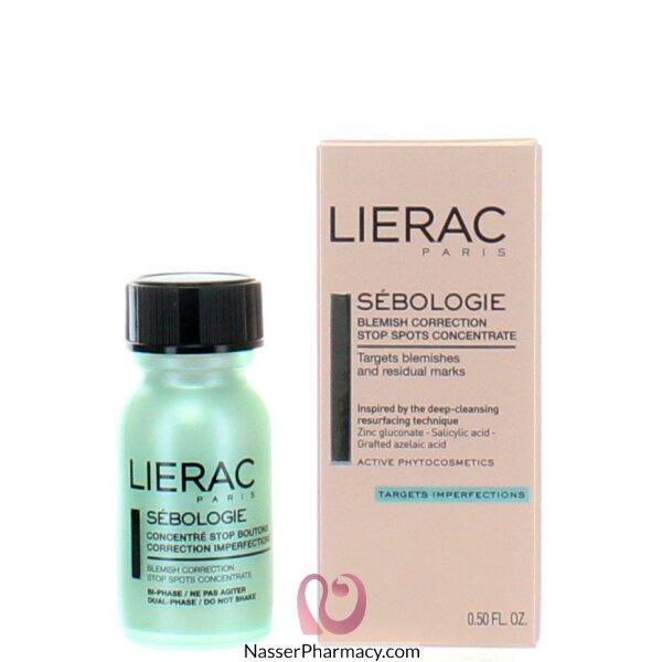 ليراك  Lierac Sebologie  مركز لتصحيح الشوائب وإيقاف البقع 15 مل