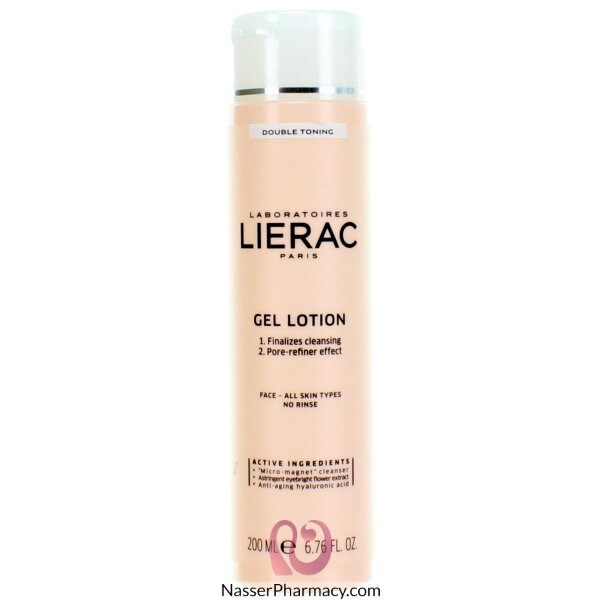 ليراكlierac غسول جل لتنظيف وتوحيد لون البشرة 200 مل