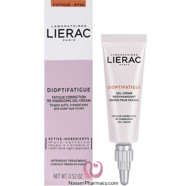 Lierac Dioptifatigue Fatigue Correction Re-energizing Gel-cream 15ml