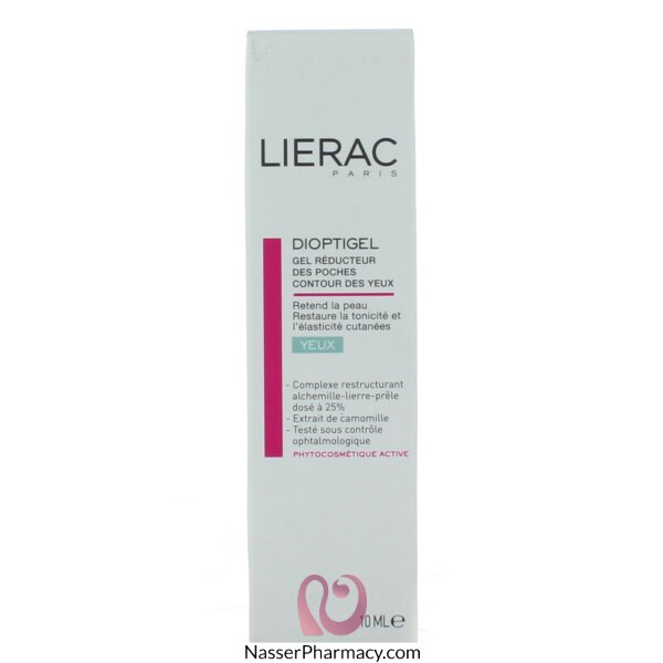 Lierac Dioptigel Anti-puffiness Gel - 10 Ml
