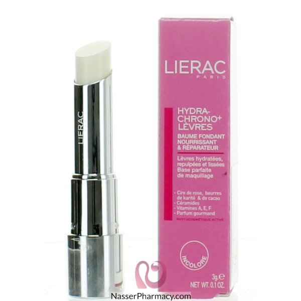 Lierac Hydra Chrono Plus Colorless Lips Balm - 3g