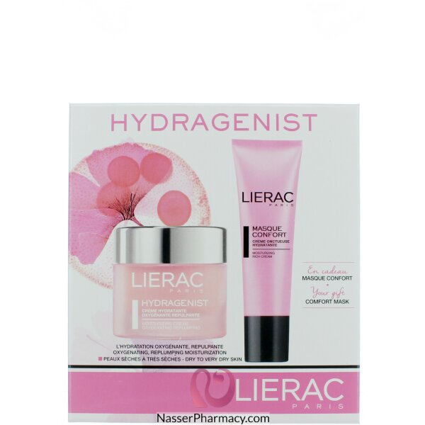 Lierac Hydragenist Moisturizing Cream + Mask Free