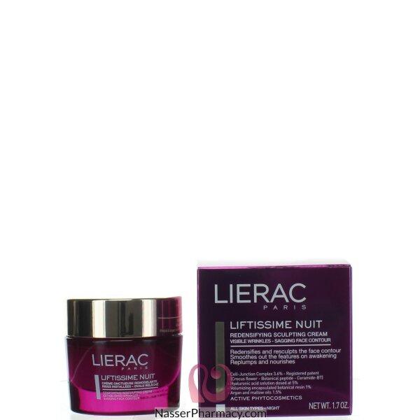 Lierac Liftissime Nuit Redensifying Sculp Cream -50ml