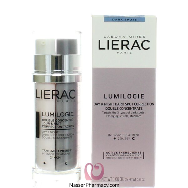 Lierac Lumilogie Day & Night Dark-spot Correction Double Concentrate 30ml 30ml